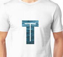 """The Letter """"T"""" Ocean Unisex T-Shirt"""