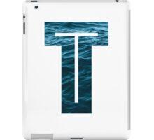 "The Letter ""T"" Ocean iPad Case/Skin"