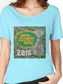 The Eskimos 2015 Champions - Bottle Cap Mosaic Women's Relaxed Fit T-Shirt