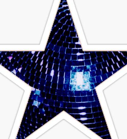 Disco Star Sticker
