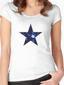 Disco Star Women's Fitted Scoop T-Shirt