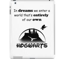 Harry Potter Themed Artwork (Black text) iPad Case/Skin