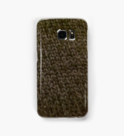 Knitted chainmail Samsung Galaxy Case/Skin