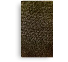 Knitted chainmail Canvas Print