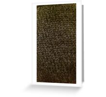 Knitted chainmail Greeting Card
