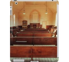 Praise Waiteth for Thee O God in Zion iPad Case/Skin