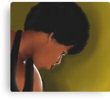 Georgia Anne Muldrow Portrait  Canvas Print