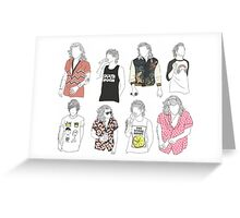 Larry Fashion Greeting Card