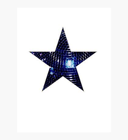 Disco Star Photographic Print