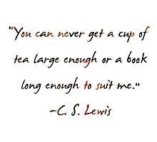 C. S. Lewis On Books by starwhale97