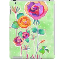 Floral X iPad Case/Skin