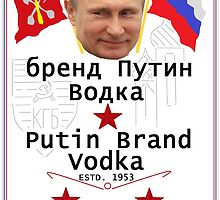 Putin Vodka by CaptainRouge