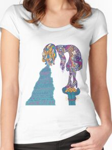 Foster The People 2 Women's Fitted Scoop T-Shirt