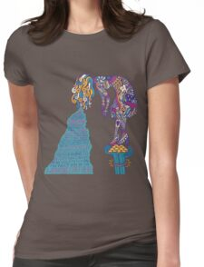 Foster The People 2 Womens Fitted T-Shirt