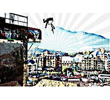 Whistler From Above - 1  Photographic Print