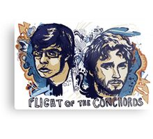 Flight of the Conchords Metal Print