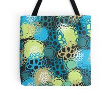 Seamless background black blue brown green  Tote Bag