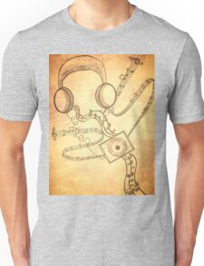 Headphone soothe (vintage type) Unisex T-Shirt