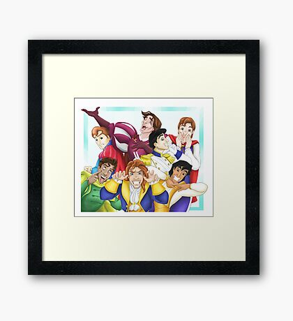 Silly Princes Framed Print