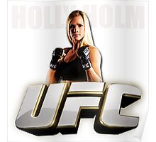 WOMEN ATLET HOLLY UFC Poster