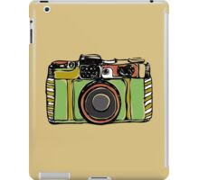 Vintage film camera big iPad Case/Skin