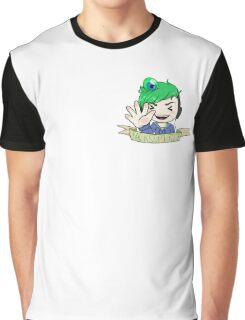 JacksepticEye Ribbon Graphic T-Shirt