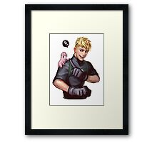 Badass Ron Stoppable x Rufus Framed Print