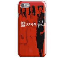 TGIT: Grey's Anatomy, Scandal, How to Get Away With Murder- iPhone Case iPhone Case/Skin