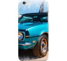 Classic Chevy Camaro Convertible iPhone Case/Skin