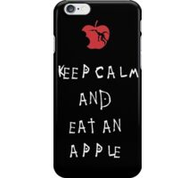Shinigami Death Note T-shirt - Keep Calm And Eat An Apple iPhone Case/Skin