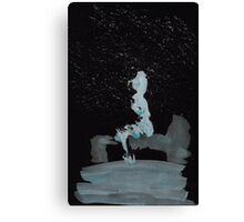 WDVMM - 0202 - Branched Sitting Canvas Print