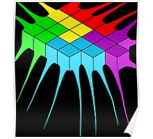 Tetris Melt 2 Poster