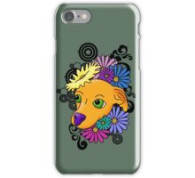 Flower Child Chihuahua iPhone Case/Skin