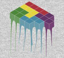 Tetris Melt 3 Kids Tee