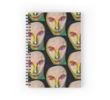 The Androgynous Alien Spiral Notebook