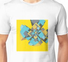 Cool abstract digital explosion Unisex T-Shirt
