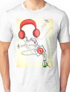 Headphone soothe  Unisex T-Shirt