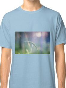 Ear with nature abstract background Classic T-Shirt