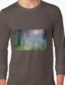 Ear with nature abstract background Long Sleeve T-Shirt
