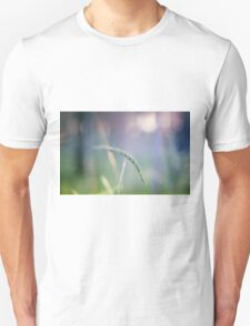 Ear with nature abstract background T-Shirt