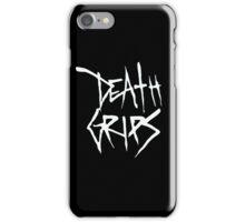 Death Grips (White Logo) iPhone Case/Skin