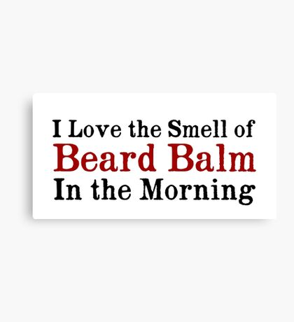 Beard Balm Canvas Print