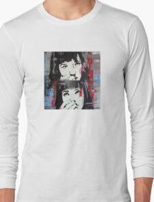 Mia Wallace - Pulp Fiction Long Sleeve T-Shirt