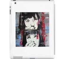 Mia Wallace - Pulp Fiction iPad Case/Skin