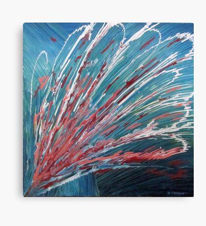Aquatic Flower Canvas Print