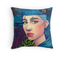 Art Angel Throw Pillow