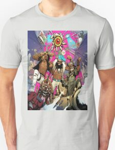 Flatbush Zombies Comic Space Adventure T-Shirt
