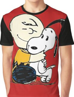 Snoopy and Charlie Soulmate Graphic T-Shirt