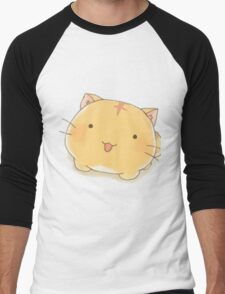 Poyopoyo cute cat Men's Baseball ¾ T-Shirt