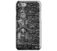 Temple Statue Monochrome iPhone Case/Skin